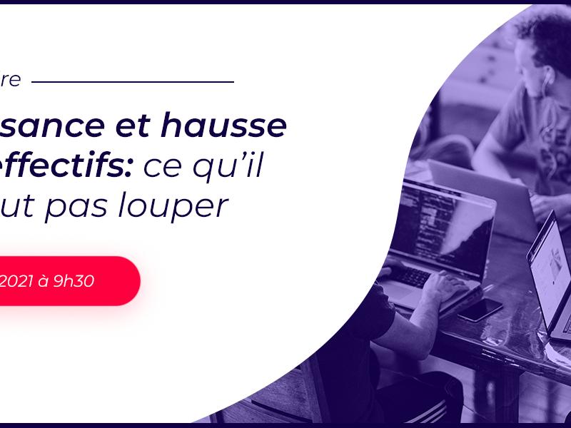 Pour les startups et plus largement toutes les entreprises, passer d'une famille/tribu à une équipe d'entreprise n'est pas inné. La croissance d'une entreprise, la hausse des effectifs, ça s'organise. Dans ce webinar « Croissance et hausse des effectifs : ce qu'il ne faut pas louper » animé en partenariat avec La French Tech Bordeaux, Laurence Riou, présidente d'IXEO-Conseil, et Typhaine Guézet, notre consultante en organisation, nous éclairent sur les pratiques qui permettent de modéliser et d'ajuster l'équipe en perpétuelle évolution.